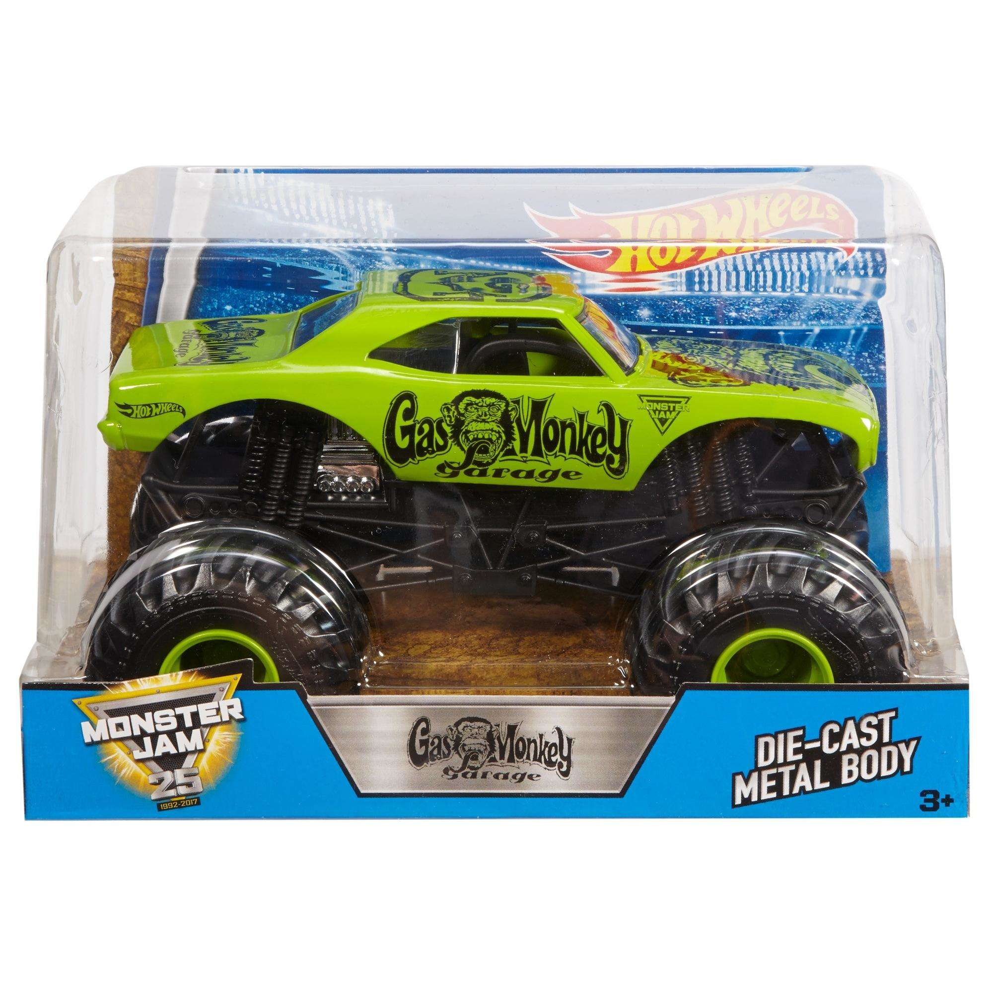 Hot Wheels Monster Jam Gas Monkey Vehicle by Mattel