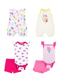 8025ccb2d 100% Organic Cotton Star-Pack Mix 'n Match Outfits, 6pc Gift Bag · Little  Star Organic