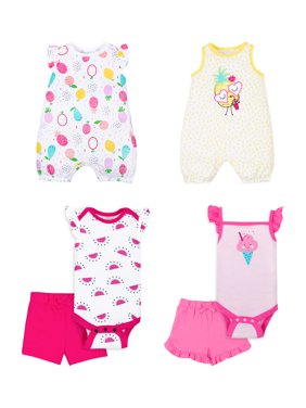 44971d255 Product Image 100% Organic Cotton Star-Pack Mix 'n Match Outfits, 6pc Gift  Bag