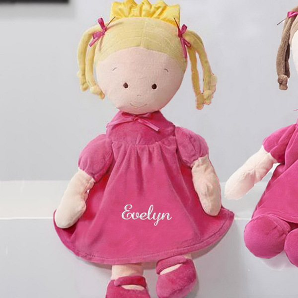 Personalized Dibsies Princess Doll - Blonde, 16 Inch