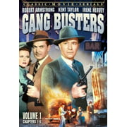 Gangbusters Serial 1 Chapters 1-6 (DVD)