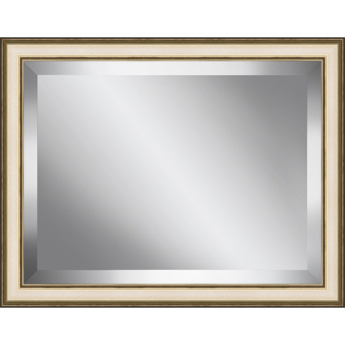 Ashton Wall D cor LLC Champagne Frame Beveled Plate Glass Mirror