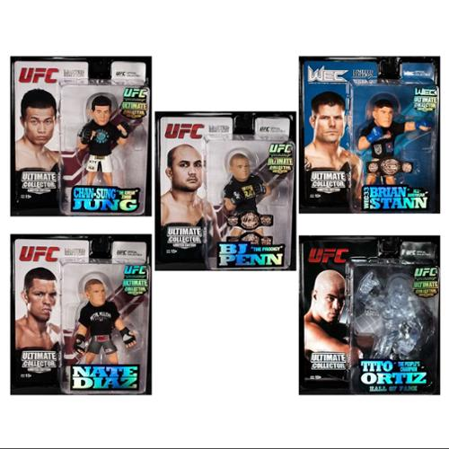 Round 5 UFC Series 12 Limited Edition Action Figures Kit (Set of 6)