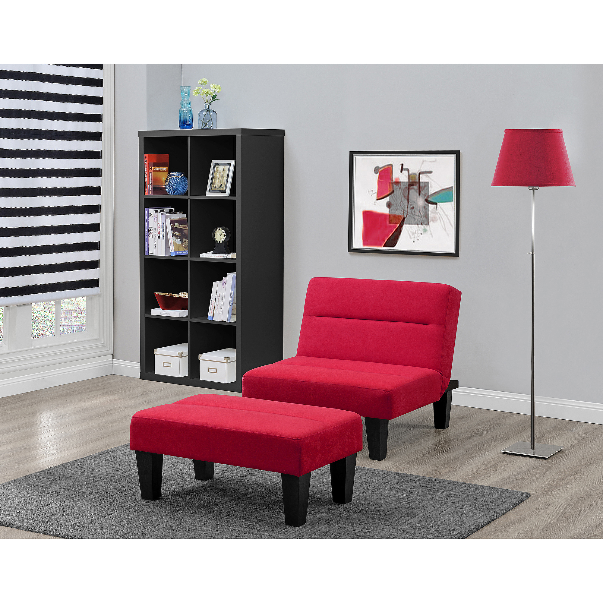 accent colors with chair ottoman com walmart microfiber kebo futon multiple ip futons dhp cover