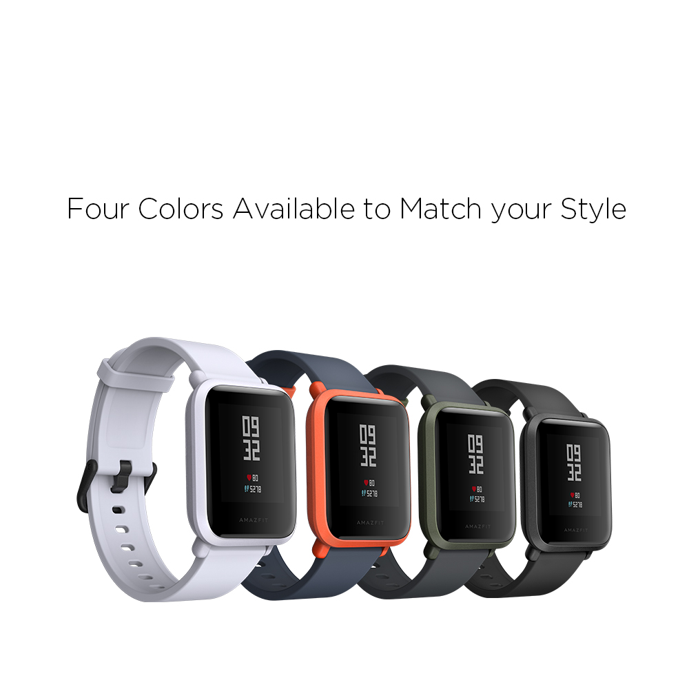 Amazfit Bip Smartwatch by Huami (White Cloud)