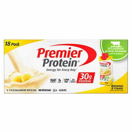 Premier Protein Banana Shakes  18  11Oz Shakes