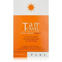 Tan Towel Self Tanner Towelette Plus, 10 Ct