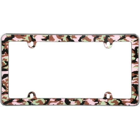Cruiser Accessories® Camo-Girl™ License Plate Frame - Walmart.com