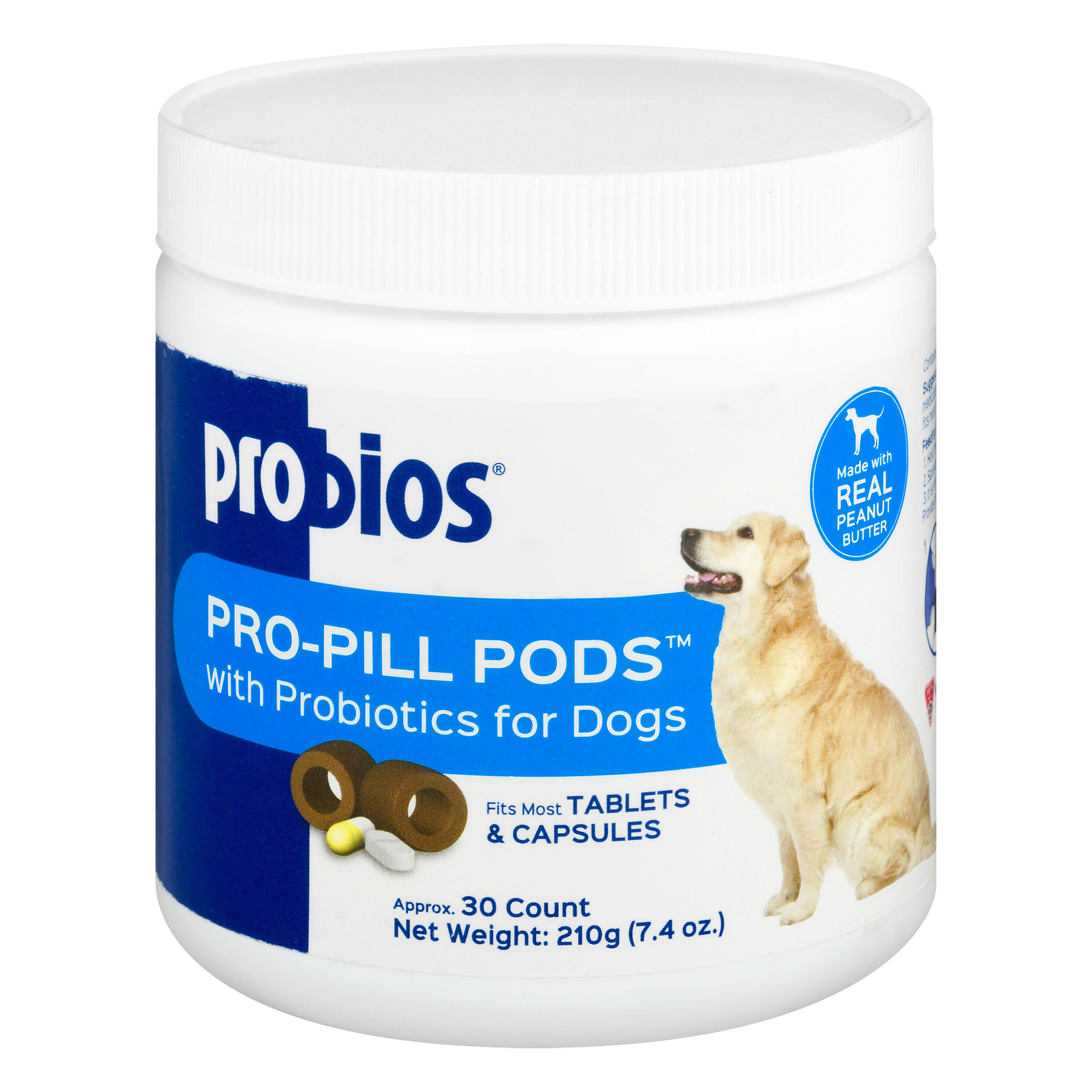 Probios Pro-Pill Pods with Probiotics for Dogs - 30 CT30.0 CT