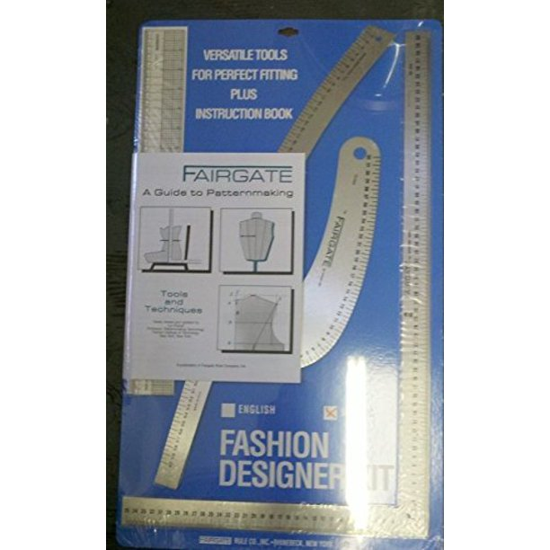 Fairgate Fashion Designer Rule Kit In Cm 15 202 By Fairgate Walmart Com Walmart Com