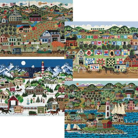 Seasons Puzzle Set - 4-in-1 Four Seasons Puzzle Set Jigsaw Puzzle