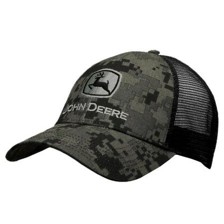 John Deere Digi Camo Twill Hat