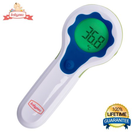 Babynow Digital Infrared Forehead Thermometer Non-Contact Thermometer Delivers Rapid, Accurate Results in One Quick Touchless Temporal Scan