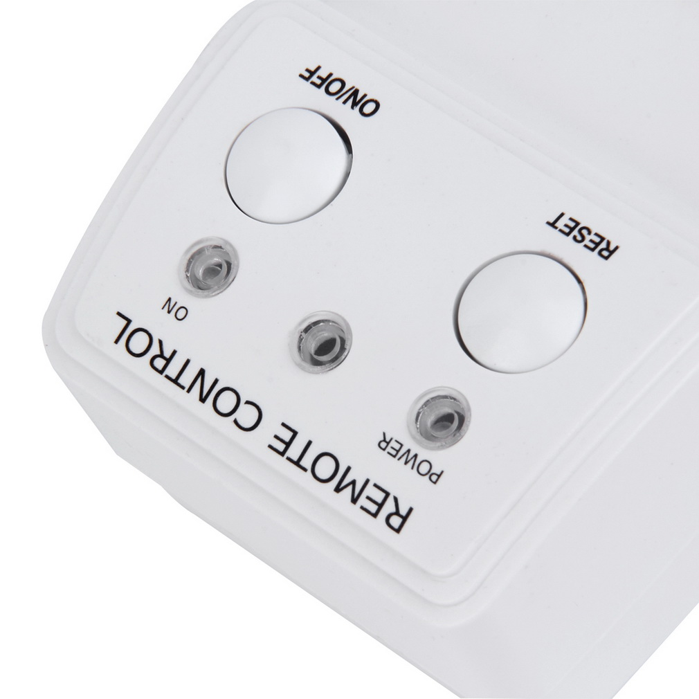 4 Pack Wireless Remote Control AC Power Outlet Plug Light...