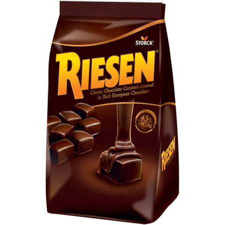 Risen Caramel Confection Covered in Rich European Chocolate, 30 -