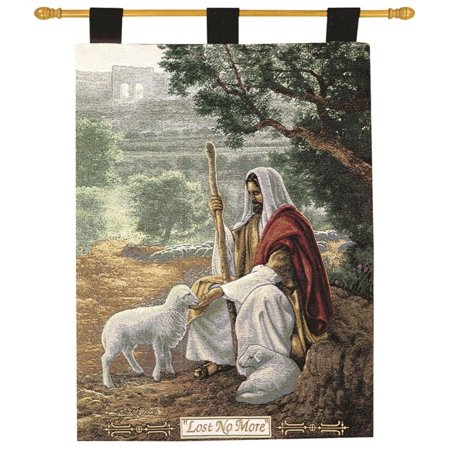 Greg Olsen  Lost No More  Religious Wall Art Hanging Tapestry 26  X 36