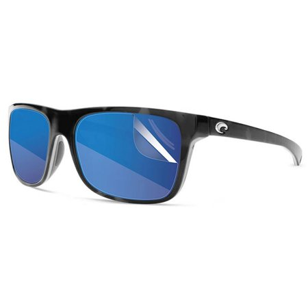 RIPCLEAR Sunglass Protectors for Costa Del Mar Remora Sunglasses - Scratch Proof Crystal Clear - 2 pack Lens (Costa Sunglasses Scratch Repair)