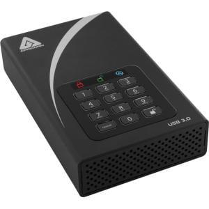 Apricorn Aegis Padlock DT 6 TB Desktop Hard Drive - External - USB 3.0 - 8 MB Buffer - 1 Year Warranty