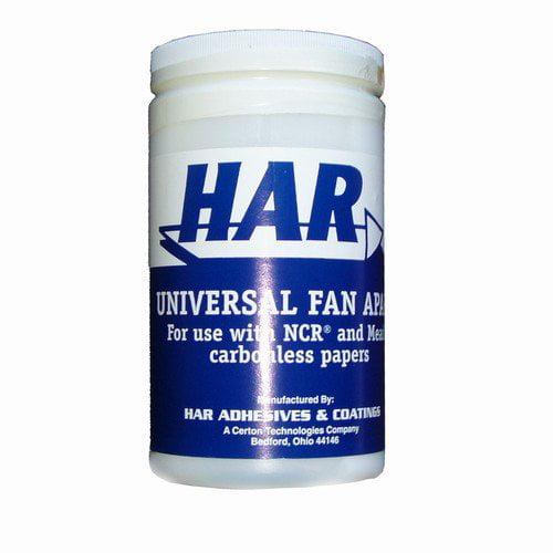 HAR Universal Fan Apart Carbonless Paper Adhesive 1 Quart by