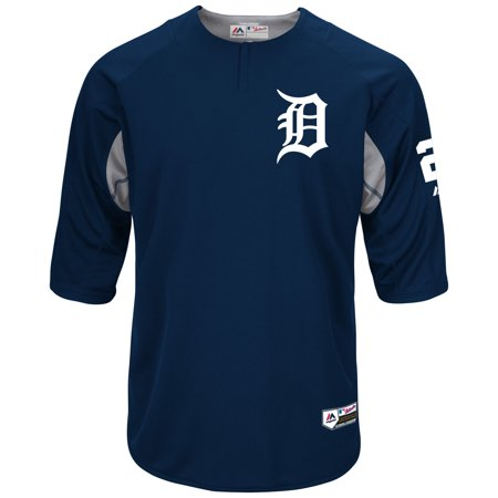 Cabrera Jersey - Miguel Cabrera Detroit Tigers Majestic Authentic Collection On-Field Player Batting Practice Jersey - Navy