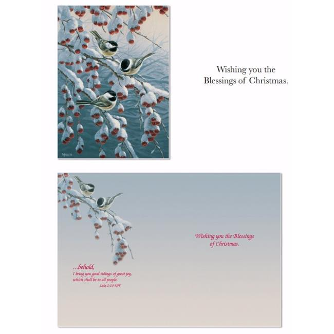 Crown Point Graphics 152482 Card-Boxed-Shared Blessings Winter Gathering - Box of 12