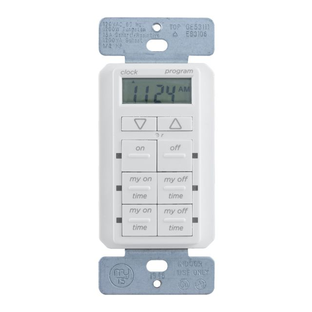 myTouchSmart Simple Set In-Wall Digital Timer, 26893-P1 by Jasco Products Company