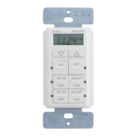 myTouchSmart Simple Set In-Wall Digital Timer, 26893-P1 (Timer Electric)