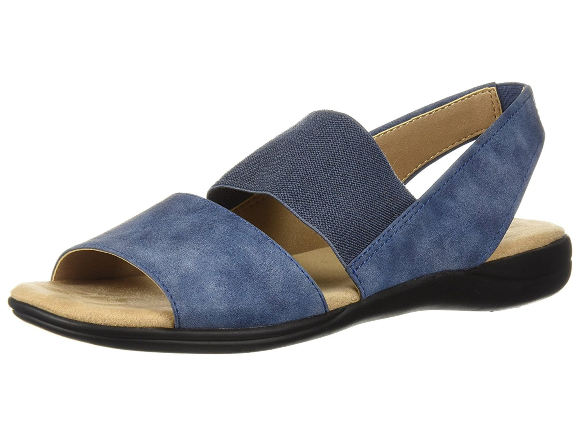 Lifestride Womens Easily Open Toe Casual Slingback Sandals by LifeStride