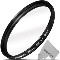 58MM UV Filter Haze Protector (Slim Design) for DSLR Lens by Altura Photo