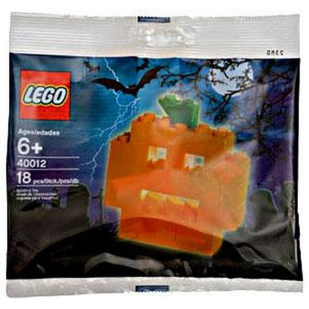 LEGO Pumpkin Mini Set LEGO 40012 - Lego Halloween Pumpkin