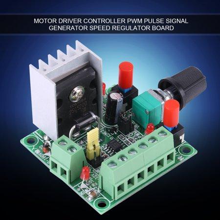 Audio Test Signal Generators - Yosoo Stepper Motor Controller PWM Pulse Signal Generator Speed Regulator Board