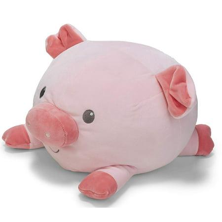 - Cuddle Pal Round Large Pig Plush