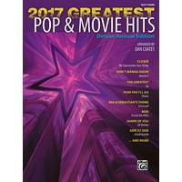2017 Greatest Pop & Movie Hits : Easy Piano