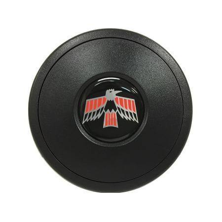 Volante Steering Wheels S9 Horn Button; w/Pontiac Firebird Emblem; 9-Bolt Pressure Fit