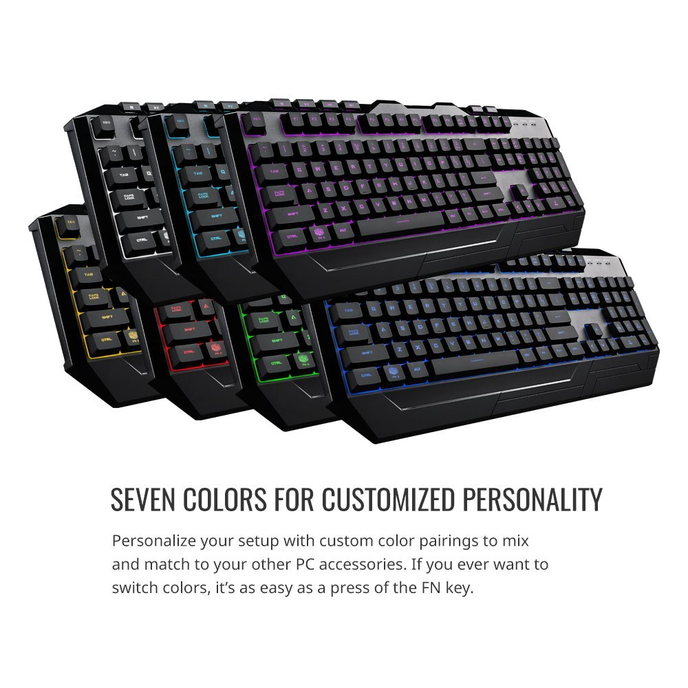 Cooler Master Devastator 3 Gaming Combo Keyboard and Mouse Featuring Seven  Different LED Color Options (SGB-3000-KKMF1-US) - Walmart.com