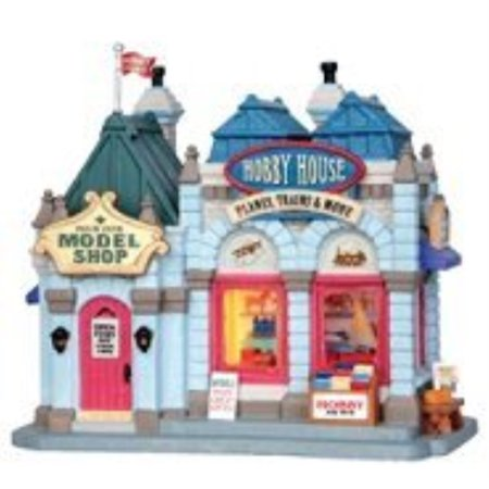 - Lemax Village Collection ''Christmas Village Building, Porcelain Lighted House Hobby House with 6 Foot Cord