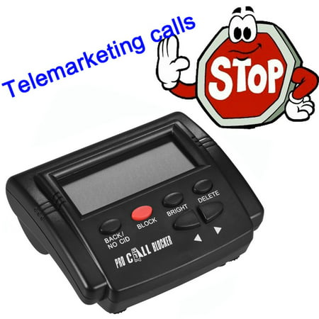 CT-CID803 Caller Box Call Blocker Stop Nuisance Calls Devices Call LCD  Screen Display with 1500 Numbers Capacity Stoping All Cold Calls for Fixed