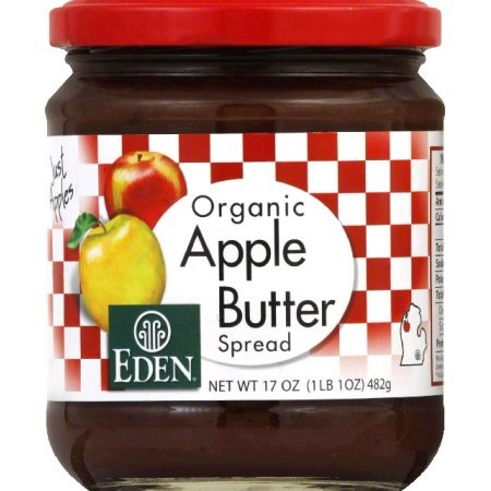 Eden Foods Organic Apple Butter Spread, 17 Oz by Eden Foods