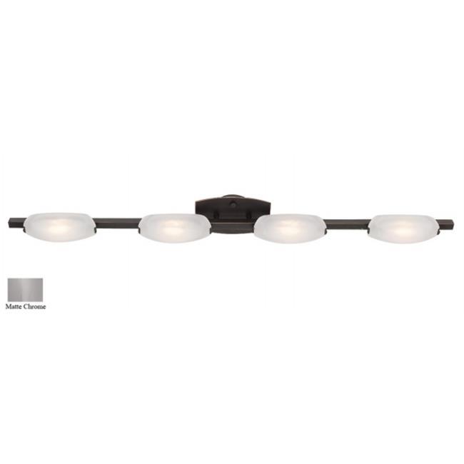 Access Lighting 63961-MC-FST Nido 4 Light Wall and Vanity - Matte Chrome - image 1 de 1