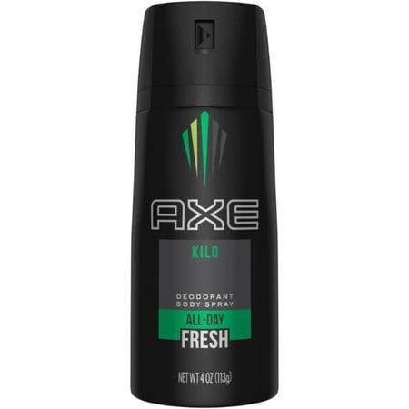 Kilo Axe - 6 Pack - Axe Kilo Deodorant Body Spray  4 oz