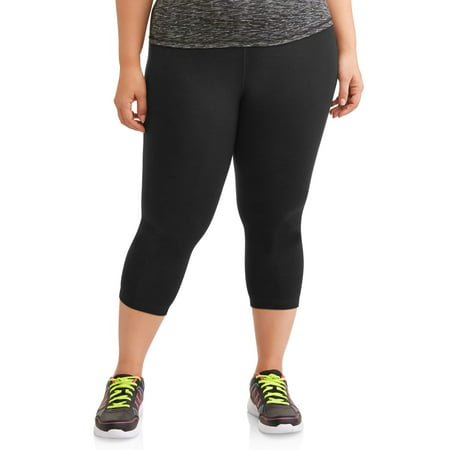 Workout Womens Capris - Athletic Works Women's Plus Size Dri More 19