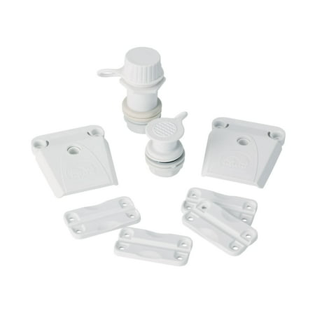 Igloo Ice Chest Universal Parts Kit White ()