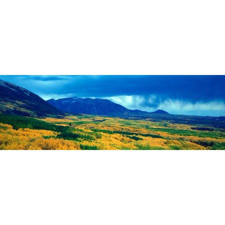 Autumn Clouds at Kebler Pass, Gunnison National Forest, Colorado Print Wall Art By Panoramic Images (Passing Clouds Halloween)