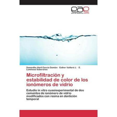 Microfiltracion y Estabilidad de Color de Los Ionomeros de Vidrio (Halloween Y Los Catolicos)