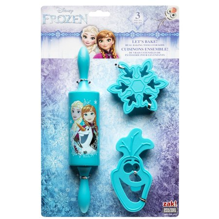 Disneys Frozen 3 Piece Kids Baking Set For Cookies By Zak