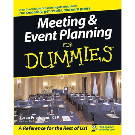 Meeting   Event Planning For Dummies