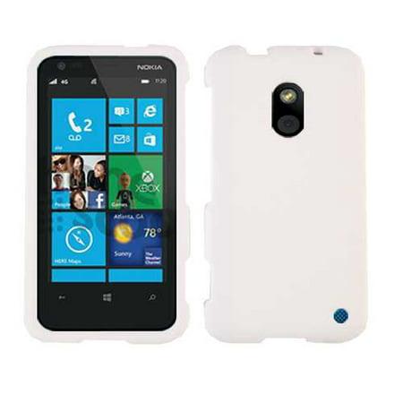 (Unlimited Cellular Snap-On Case for Nokia Lumia 620 - Honey White, Leather Finish)