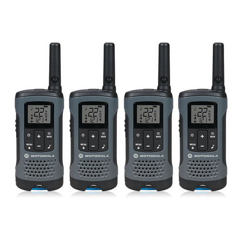 Motorola T200 (4-Pack) Walkie Talkies