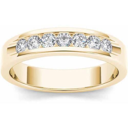 Imperial 1/2 Carat T.W. Diamond Men's 14kt Yellow Gold Wedding Band