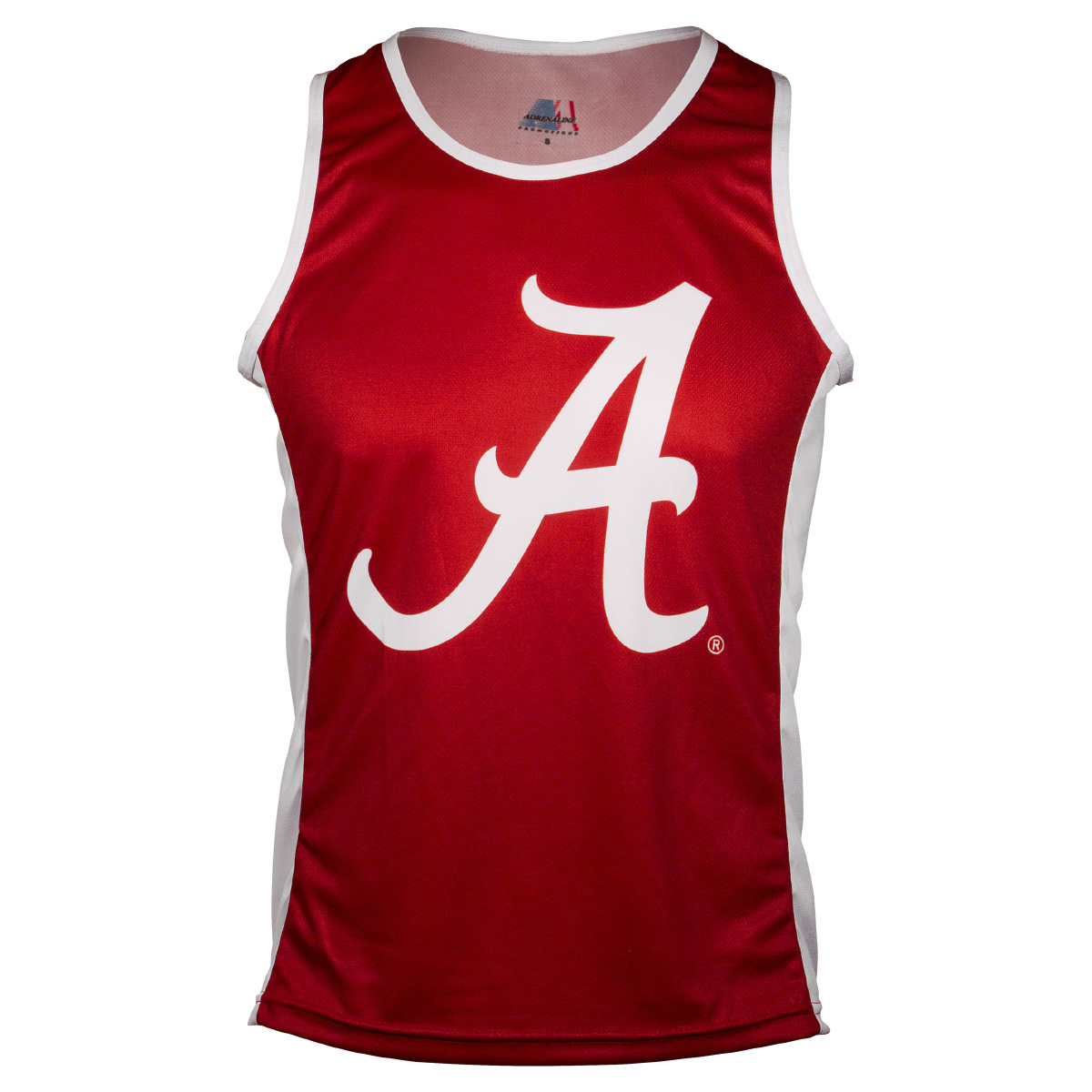 Adrenaline Promotions University of Alabama Crimson Tide Run/Tri Singlet